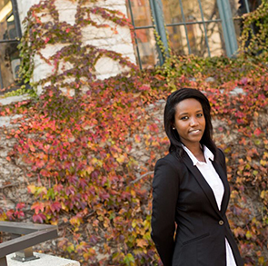 "Northwestern University ""From Hotel Rwanda to Northwestern"""